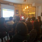 Primer meetup power bi barcelona en Amo Vino dhania mamodaly
