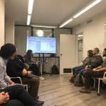 evento power bi barcelona con Flor en algri coworking