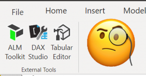 power bi desktop external tools herramientas externas tabular editor dax studio alm toolkit